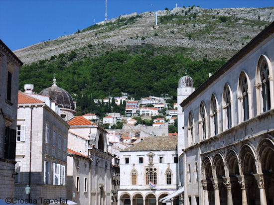 Old Town with Srd Hill