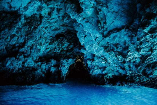 Blue Cave of Bisevo
