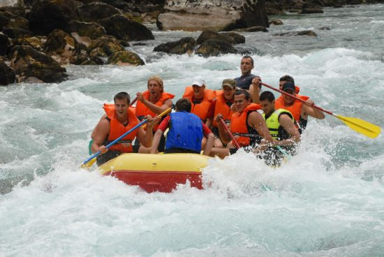 Rafting the Tara River