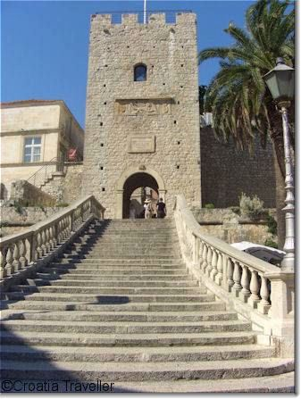 Gate to Korcula town